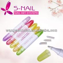 Hot Sale Reusable Nail Art Nail Polish Removal Pen, Polish Remover Cleaner Corrector Pen Nail Art Tools with 15 Tips