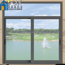 Thermal Broken Aluminum Profile Sliding Windows in Double Glazed