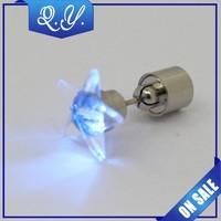 flashing led light earrings