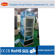 200~460L commercial refrigerator,glass door beverage refrigerator