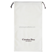 cotton muslin drawstring pouch
