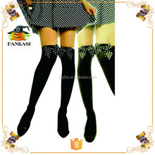 Sexy black stocking girl with Bow for Sale