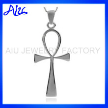 Silver Egyptian Ankh Pendant for Sale
