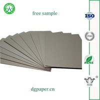 Low price lamination gray paper /chipboard /carbon board roll