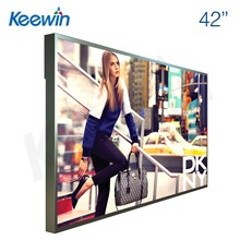 Keewin Display 42inch high brightness(2500nits to 5000nits) for semi-outdoor application advertising LCD monitor half rear cover