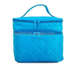 manufacturer for designer portable two compartment makeup case with mirror