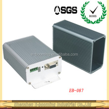 aluminum extrusion enclosures with heat sink 80*45mm /aluminum extrusion heat sink enclosures