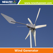 2014 NEW 400W/600W/800W/1000W/1200W/1500W/1600W/2000W small wind turbine for home,project
