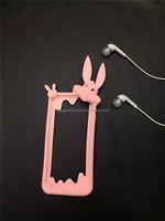Buck teeth rabbit design For iphone 6 plus case cover wholesale