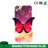 wholesale color changing 3d sublimation tpu case for iphone 6