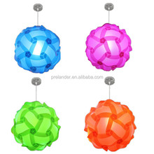 Party decor Energy Saving Light Source and Contemporary Type IQ Puzzle Lampshade