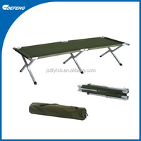 Double Aluminum Alloy Lightweight Folding Camp Cot