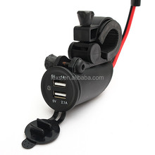 Waterproof USB motorcycle charger for smartphone