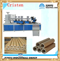 Automatic Spiral Small Cardboard Toilet Tissue Paper Can Core Pipe Tube Forming Making Winding Machine Price
