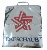 Custom printed foil thermal bag for cold drinks