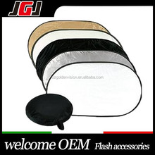 Wholesale 5-in-1 Collapsible Oval Photo studio Reflector Multi-Disc photography equipment