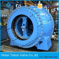 electric ductile iron flow control valve check valve