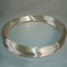 99.99 pure silver wire for jewelry and contacts