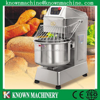 Best selling 20L/30L/40L promotion price double speed dough kneader mixer,kneader mixer with CE