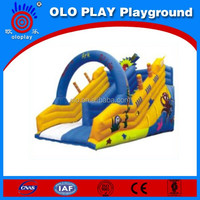 High Quality Inflatable Noah's Ark Slide Climbing Wall Slide,Inflatable Slide For Sale