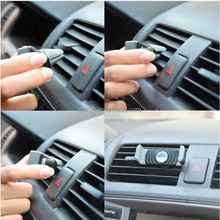 The new 2015 car phone support Mini car outlet phone stents rotate 360 car out of the wind screen mobile phone clip