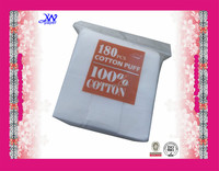 Sealed Edge Square Cleaning Facial wholesale cosmetic cotton pads