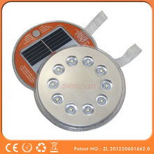 2015 Seksun new products solar camping equipment houseboat magnet lantern