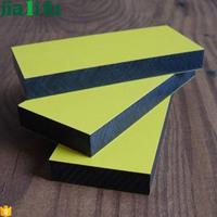 High gloss flexible yellow melamine laminate sheet