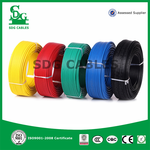 Single Core 1.5 mm 2.5 mm 6 mm Copper Electrical Wire