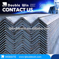Mild hot rolled steel angle iron for building constructions materials made in china