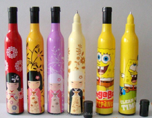 Wholesale unique bottle shaped ballpoint pen as gift pen OEM welcome CH-6176