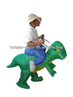 Party Costume inflatable walking dinosaur costume