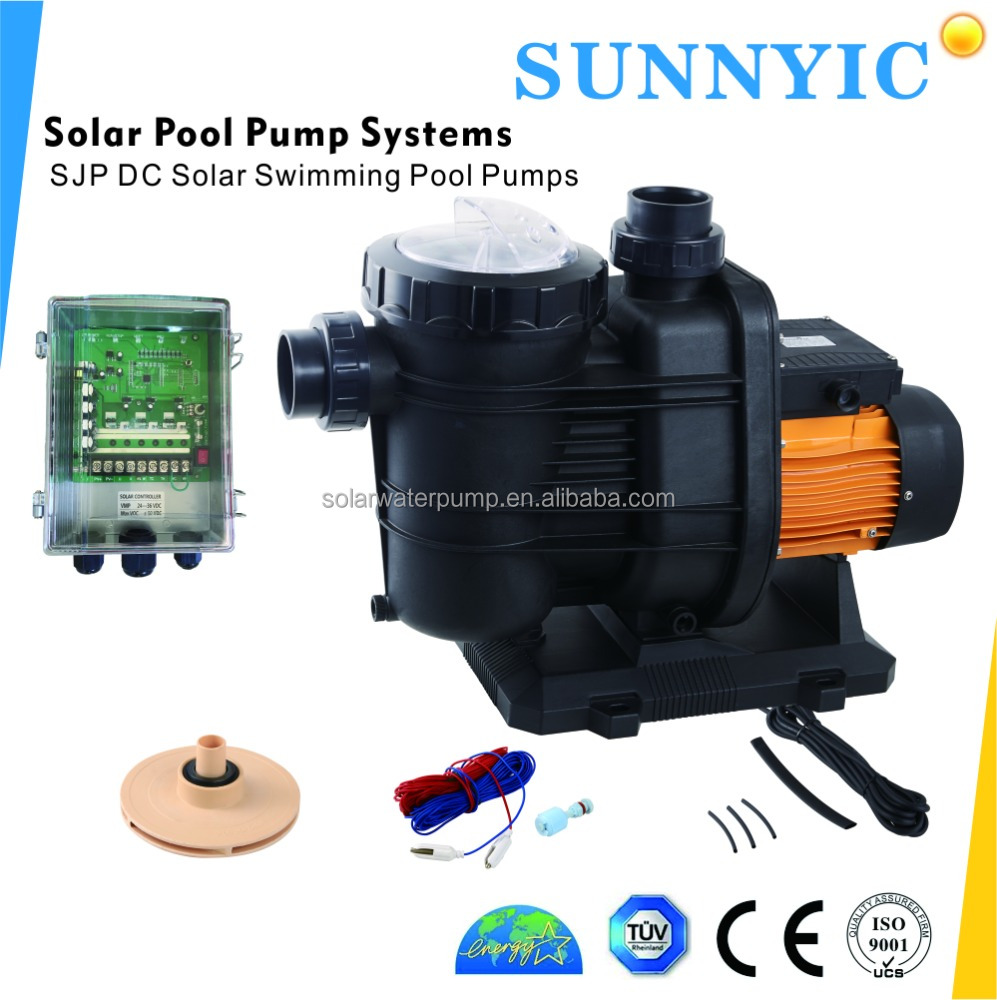 Dc Solar Water Pump Systems With Brushless Dc Motor For Solar Swimming Pool Pump