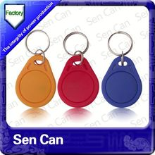 customized nfc tag for smart phone em4102/ t5577 rfid smart card for key fob