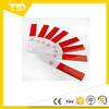 10 Pcs Caution Reflective Strip Tape Sticker Reflective Safety Tape Red & White for Car Truck