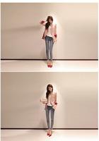 Весна моды новой корейской версии slim леди ssmall костюм куртка xz1301