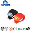 Safety Cycling Light Silicone Rubber Mini LED Bike Light Night