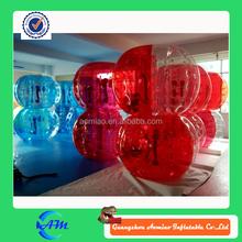 half color cheap bubble soccer ball inflatable football bubble ball for sale