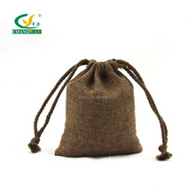 small fiber fabric drawstring bag packaging pouch