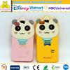 Custom cartoon shape 3d printing phone back cover for iphone