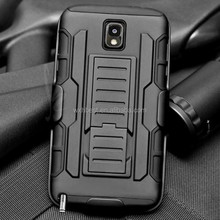 For Samsung Galaxy Note 3 N9000 Armor Belt Clip Case With 3 in 1 Combo Design Holder Cellphone Case