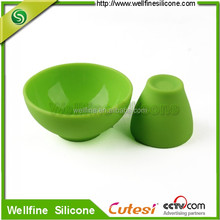 Food grade children's silicone plate bowls cups can pass FDA and LFGB