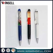 new product for promotion led floating ball point pen