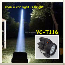 INTRY searchlight T6 strong light flashlight portable rechargeable LED remote hunting home long shots YC-T116