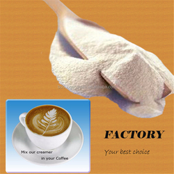 Coffee creamer, edible additives, plant extracts