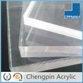 acrílico barato/hoja de vidrio plástico de plexiglás transparente