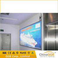 Large fabric screen printing light box with PVC cloth visual area