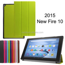 2015 new product pu leather case for Amazon Kindle Fire HD 7'',8'' and 10''