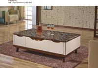 home furniture hard glass living room coffee korea tea table