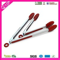 Kitchen Accessory Silicone Food Tong,Cooking Function of Food Tongs